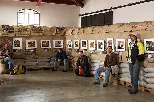 Antigua's Photo Club Coffee Exhibition by Rudy Girón