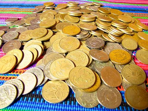 Guatemalan Coins by Rudy Girón