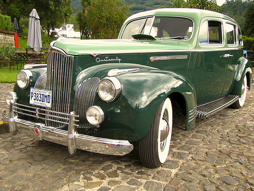 Classic Cars and La Antigua Are a Perfect Match by Rudy Girón