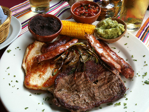 Guatemalan Cuisine: Parrillada Chapina by Rudy Giron