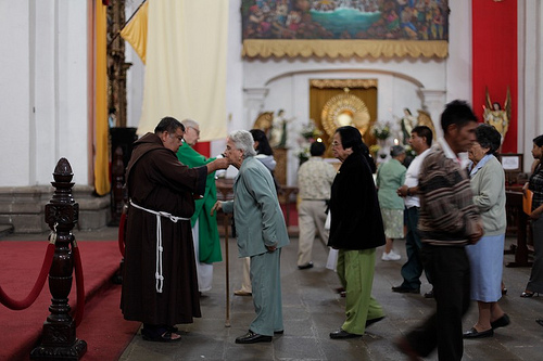 Mass Service at Antigua's Cathedral by Pinar Istek