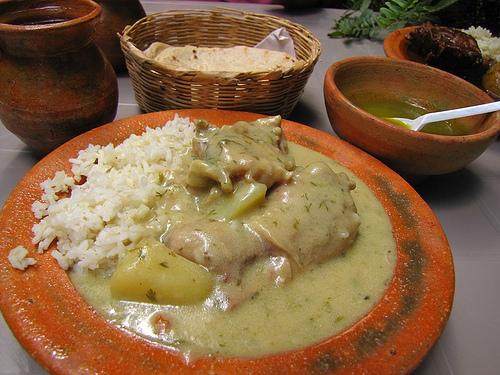 Guatemalan Cuisine: Pollo en Crema by  Rudy Girón