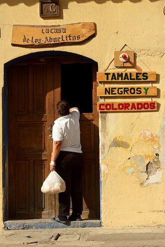 Los Abuelitos Guatemalan Tamales Shop by Rudy Girón