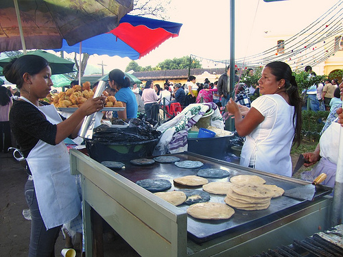 Black Pupusas Now Available in Antigua by  Rudy Girón