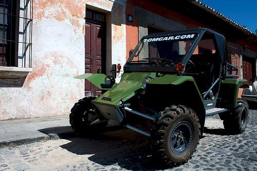 Tomcar in Antigua Guatemala by Rudy Girón
