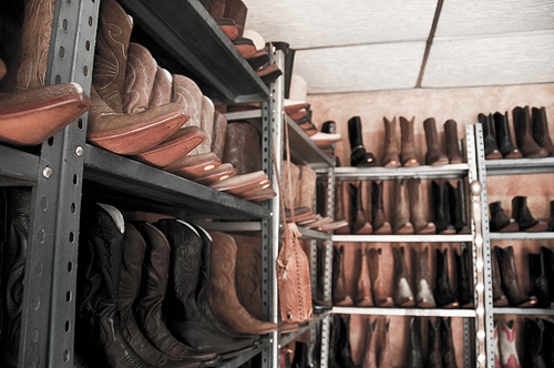 Boots, boots, boots… by Arturo Godoy