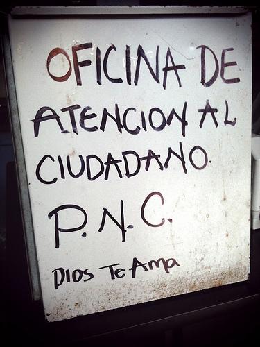 Oficina de atención al ciudadano P.N.C. by Rudy Girón