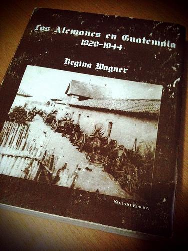 Portada del libro: Los Alemanes en Guatemala 1828-1944 by  Rudy Girón