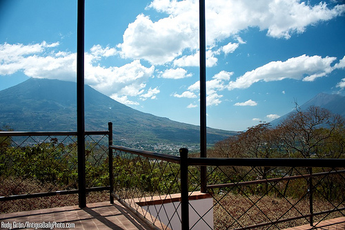 Panoramic View from El Tenedor del Cerro Restaurant by Rudy Girón