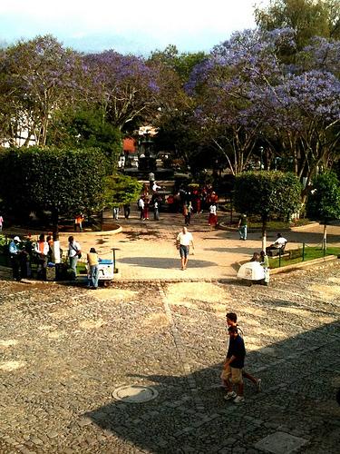 La Antigua Guatemala después de la lluvia
