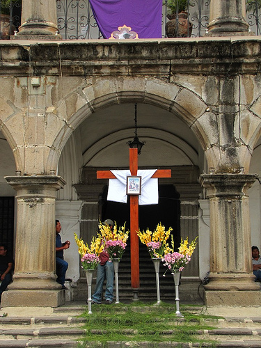 Separation of Church and State In Antigua Guatemala by Rudy Girón
