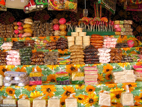 Guatemalan Candies and Nuts by Rudy Girón