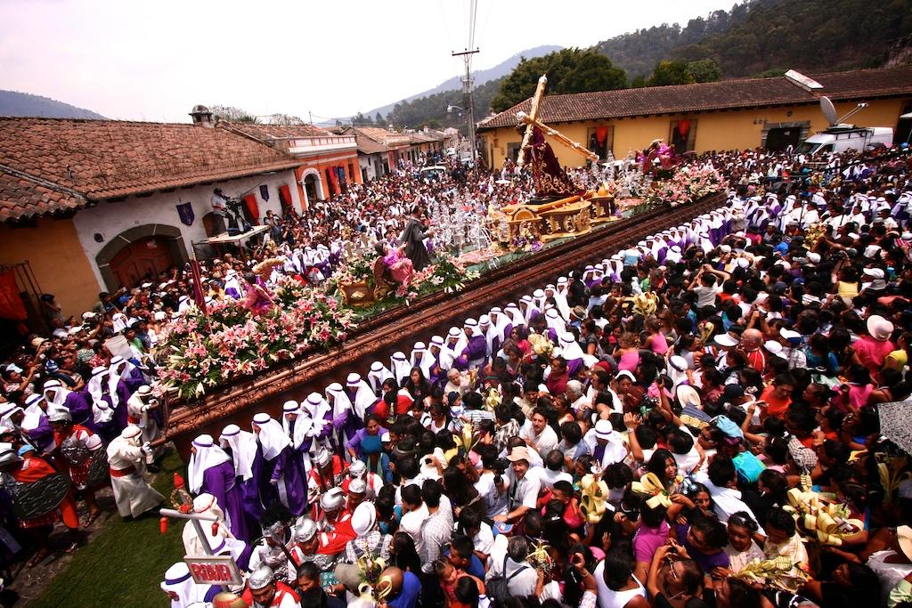 Antigua Holy Week Floats by Leonel -Nelo- Mijangos