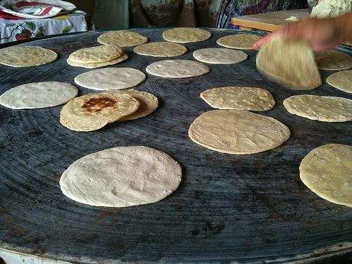 Tortillas los tres tiempos by Rudy Girón