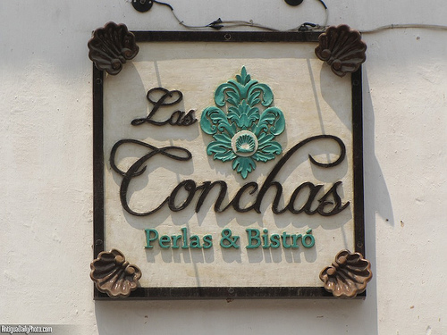 Las Conchas Sign by Rudy Girón