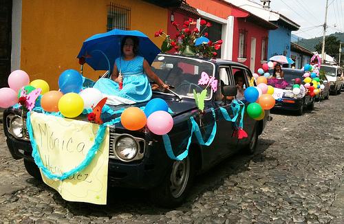 Little Girls Beauty Pageant by Rudy Girón