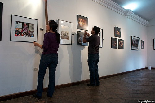 Setting Up A Photo Exhibit