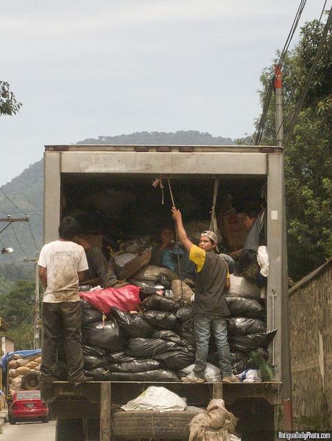 Guatemalan Trash Collectors