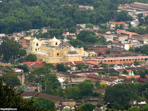 Antigua Guatemala Panoramic Vista