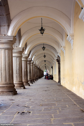 Arches at Palacio de Los Capitanes