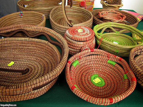 Pine-needle Baskets