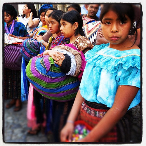 Guatemalan Portraits: Maya Girls by Rudy A. Girón
