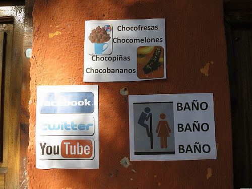 Interesting Signs Found in Antigua Guatemala by Rudy A. Girón