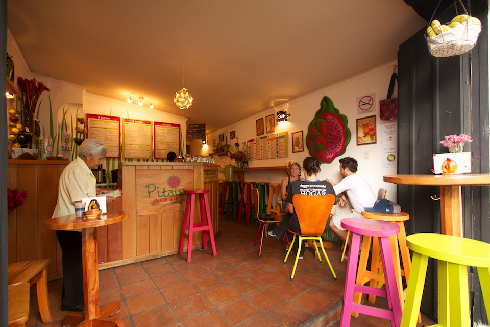 Colorful pitaya juice bar in antigua guatemala antiguadailyphoto