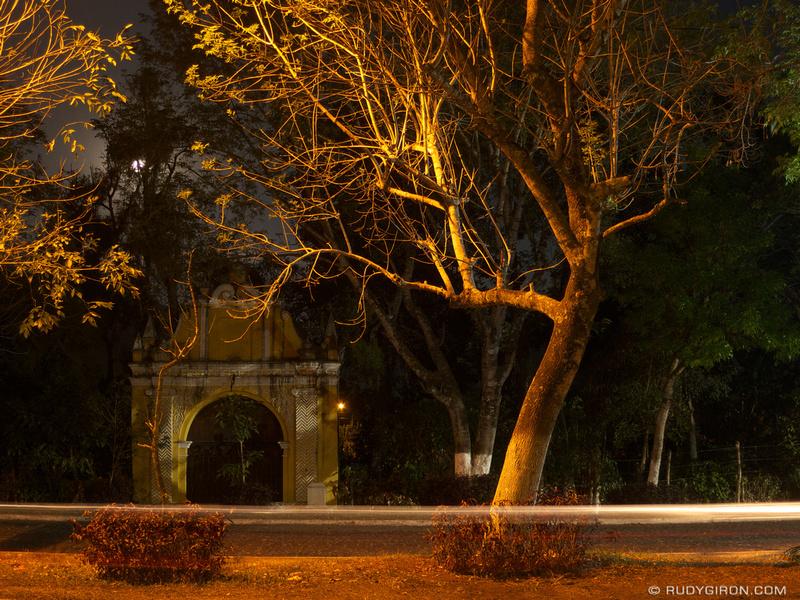 Rudy Giron: Antigua Guatemala &emdash; Alameda del Calvario in Antigua Guatemala
