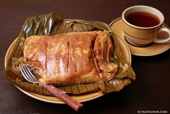 Rudy Giron: Guatemalan tamales &emdash;