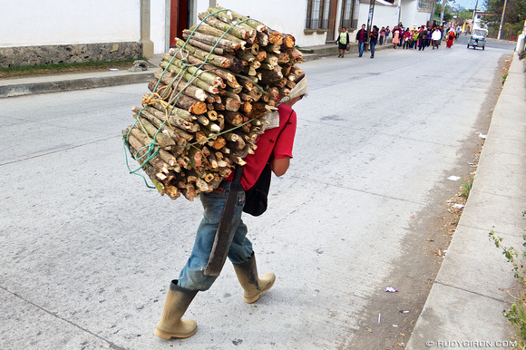 Rudy Giron: AntiguaDailyPhoto.com &emdash; Typical wood log load carrier