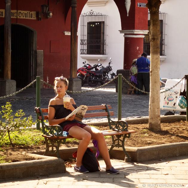 Rudy Giron: Instagrams &emdash; This is the Rainy Season in Antigua Guatemala