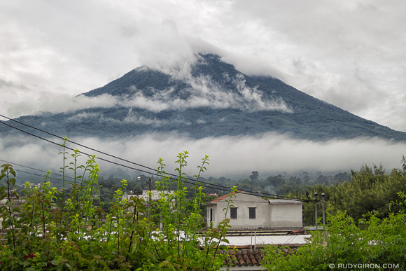 Rudy Giron: AntiguaDailyPhoto.com &emdash; Typical Rainy Season Vistas from Antigua Guatemala