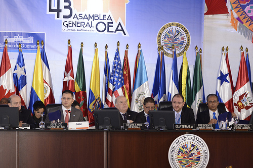 First Plenary Session of the 43rd OAS General Assembly