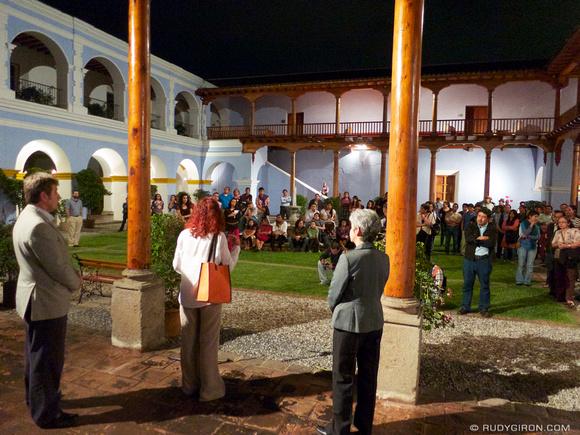 Rudy Giron: AntiguaDailyPhoto.com &emdash; Sandra Sebastián's Introspectiva inauguration at CFCE