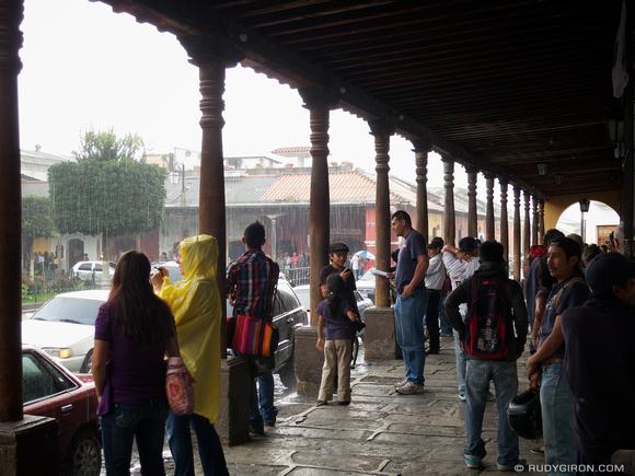 Rudy Giron: AntiguaDailyPhoto.com &emdash; When it rains, it pours in Antigua Guatemala