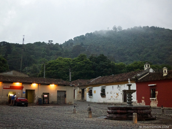 Rudy Giron: AntiguaDailyPhoto.com &emdash; Foggy Afternoons in Antigua Guatemala
