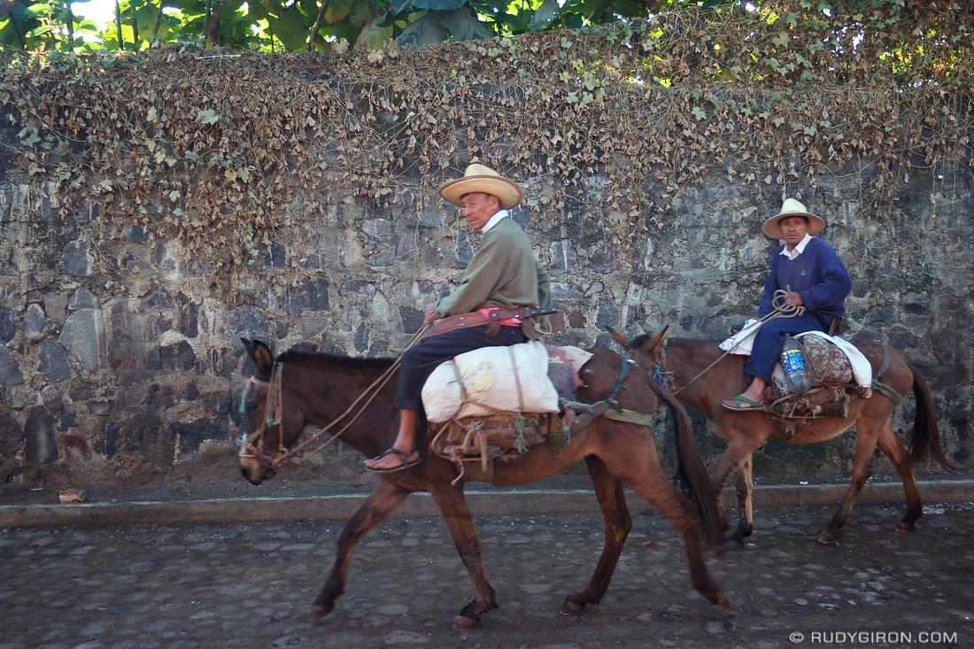 Rudy Giron: AntiguaDailyPhoto.com &emdash; Peasants on their way to work