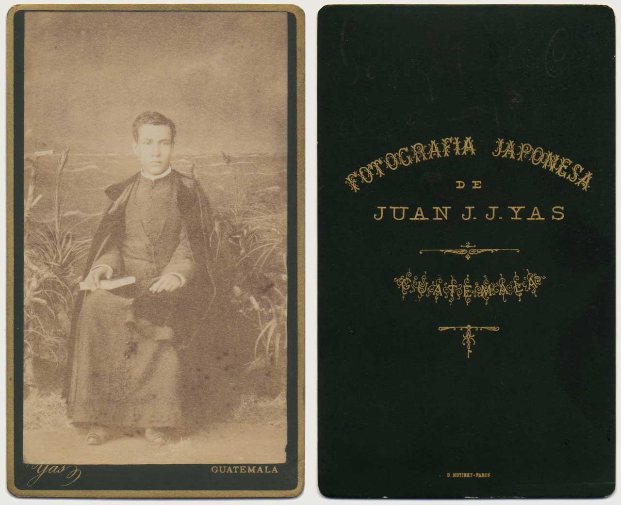 Portrait of Gonzalo de Cordova, Guatemala 1886