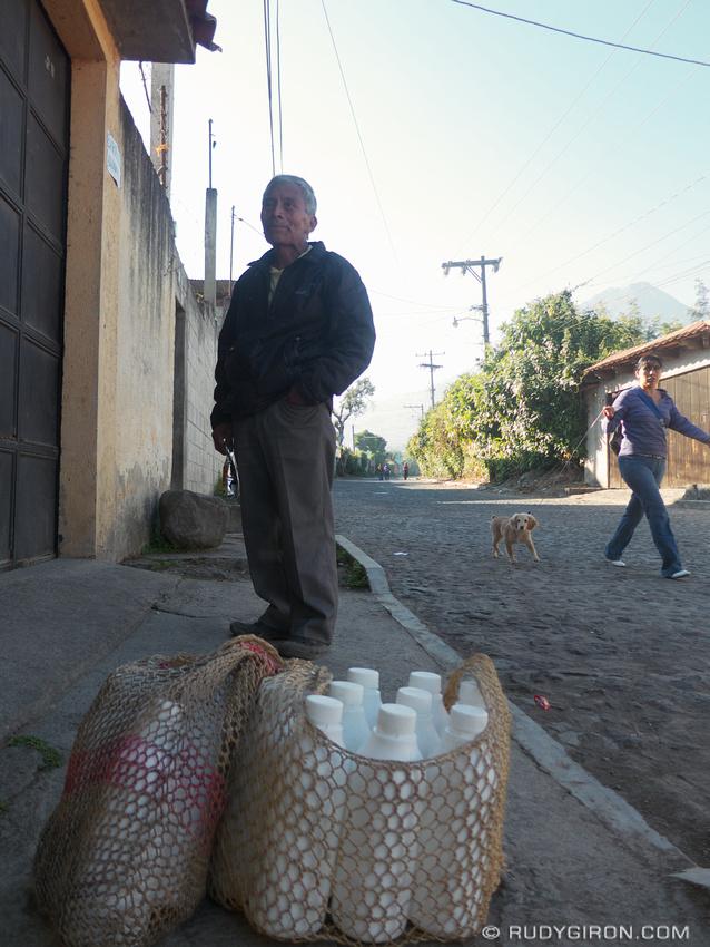 Rudy Giron: AntiguaDailyPhoto.com &emdash; I am the milkman