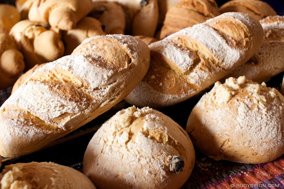 Rudy Giron: AntiguaDailyPhoto.com &emdash; Guatemalan Bread: Molletes, Obispos and Gusanitos