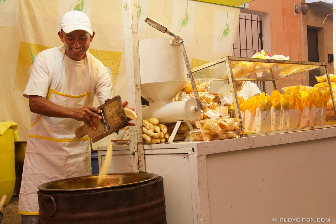 Rudy Giron: AntiguaDailyPhoto.com &emdash; Lent Food: Making Plataninas
