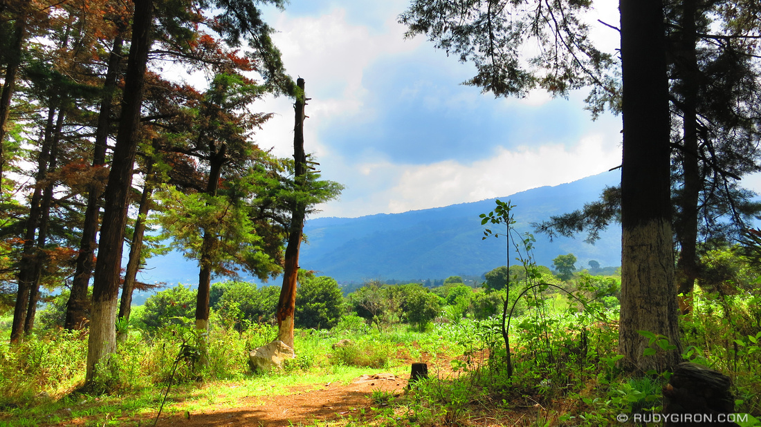 Rudy Giron: AntiguaDailyPhoto.com &emdash; Real Guatemala: Corn Fields and Forest Areas