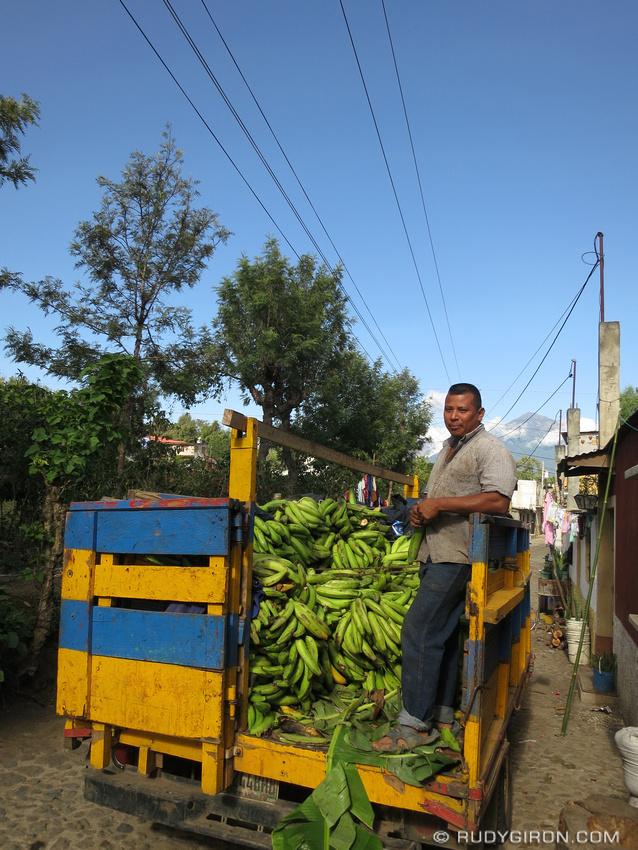 Rudy Giron: AntiguaDailyPhoto.com &emdash; Plantain Vendor Truck
