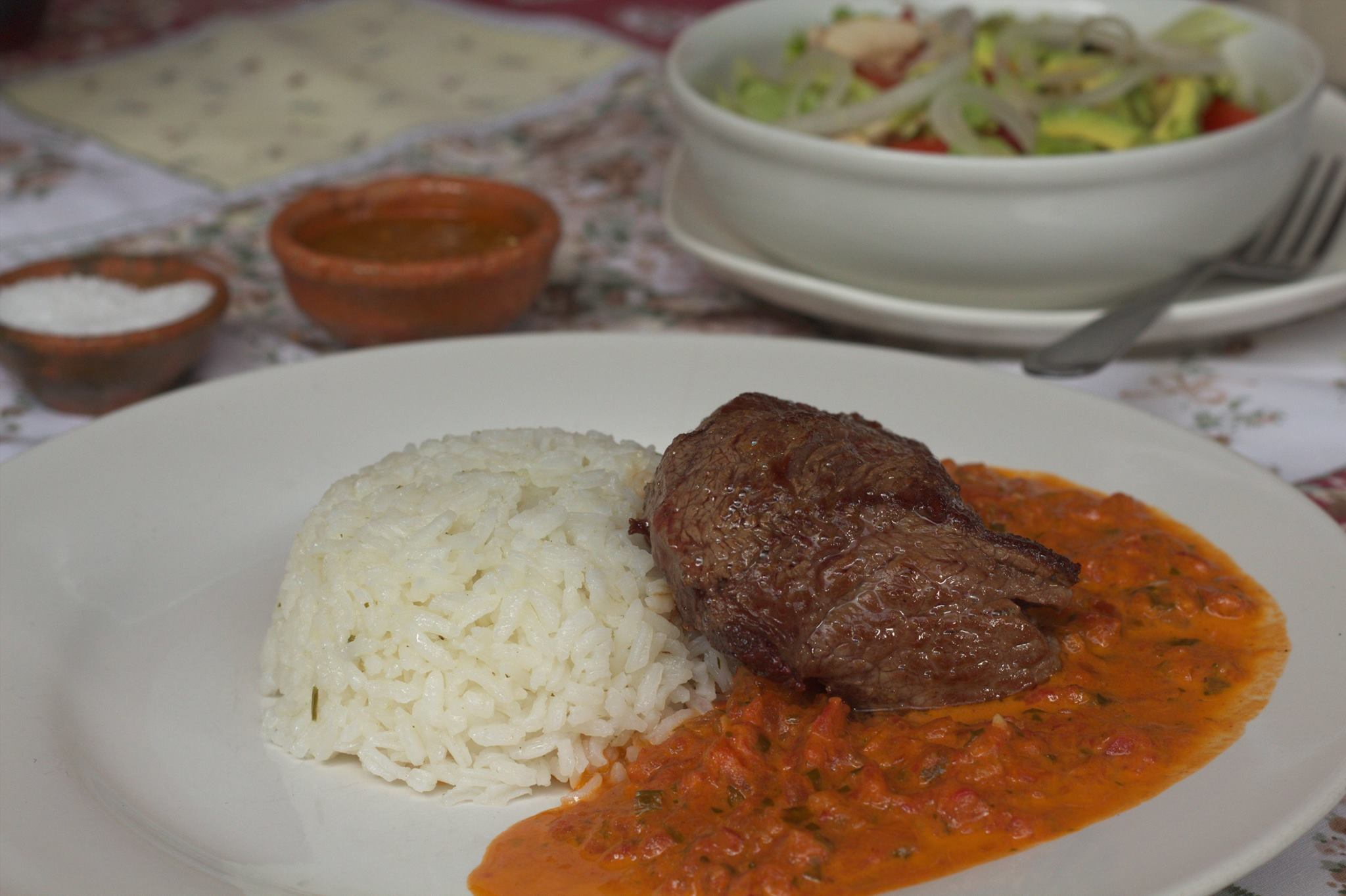 """Lomito"" with Chiltepe Sauce by Elí Orozco"