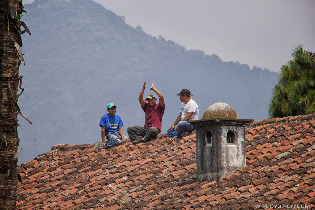 Rudy Giron: Antigua Guatemala &emdash; Spanish Tile Roof Repairs in Antigua Guatemala