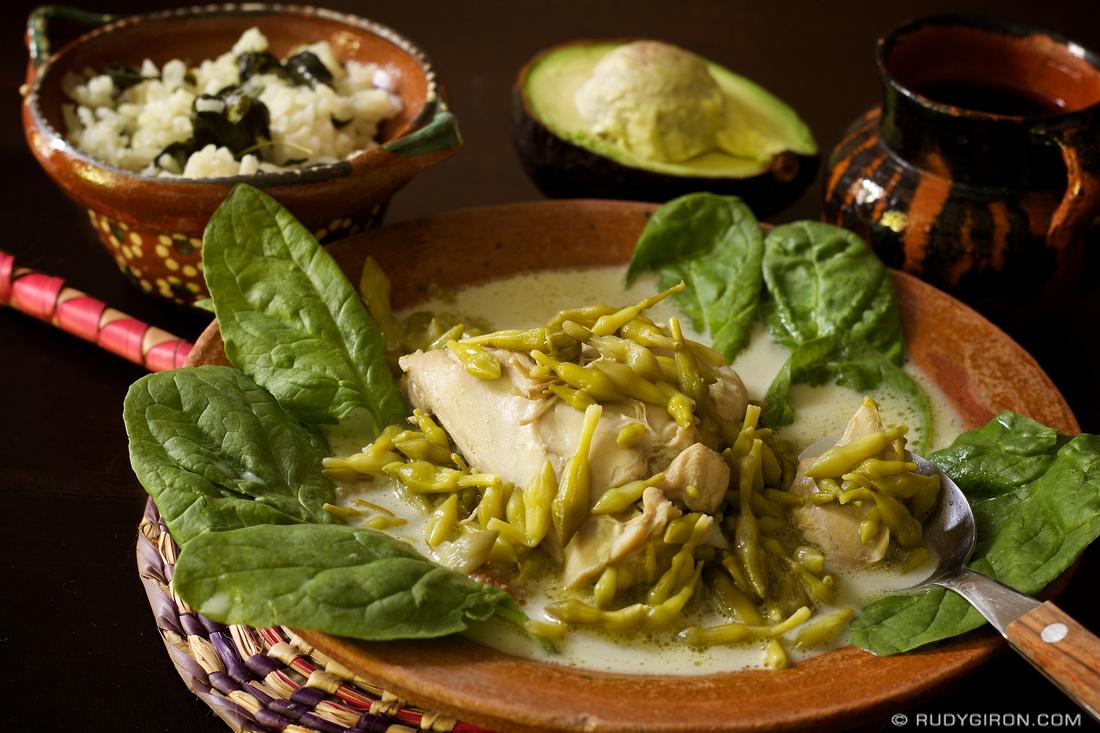 Rudy Giron: Antigua Guatemala &emdash; Guatemalan Cuisine: Pollo en Crema y Loroco