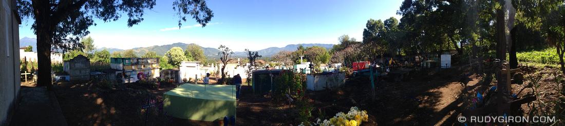 Rudy Giron: Antigua Guatemala &emdash; Cemetery Cleaning Crew
