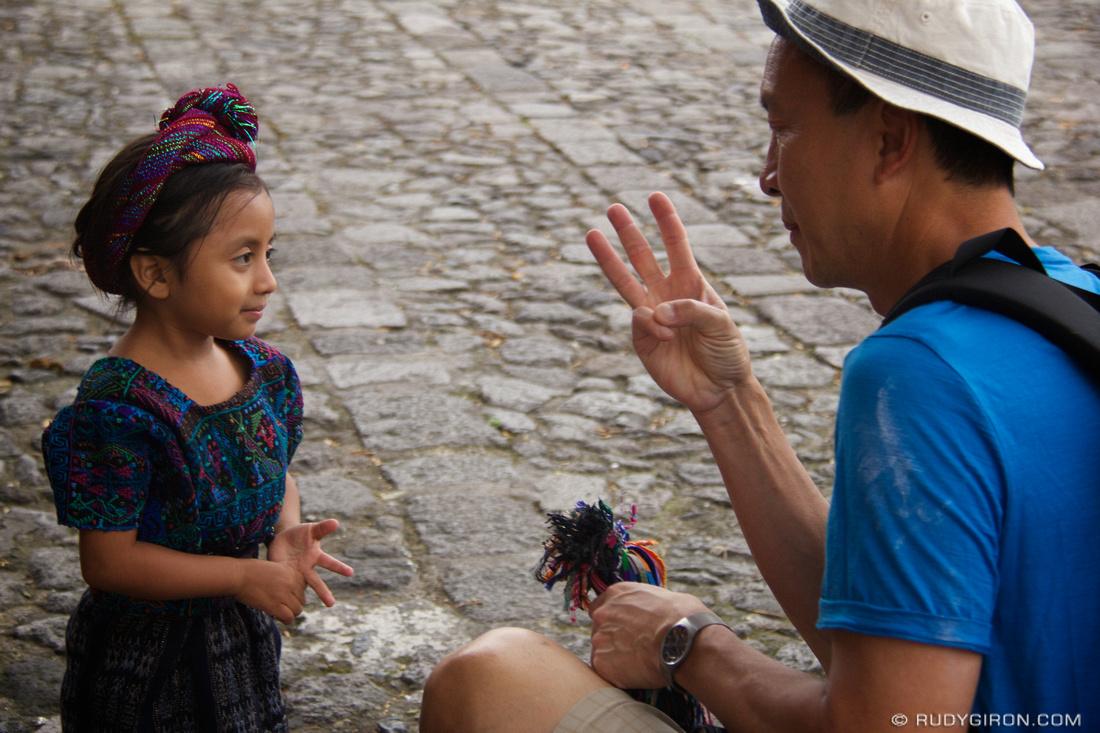 Rudy Giron: Antigua Guatemala &emdash; The negotiation during a private photo walk in Antigua Guatemala