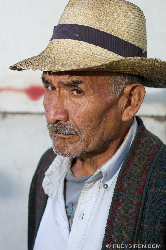 Rudy Giron: Antigua Guatemala &emdash; Portrait of Strangers: Campesino
